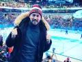 Милевский побывал на хоккейном матче и поддержал российский клуб