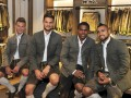 Дуглас Коста сменил футбольную форму на традиционный баварский костюм