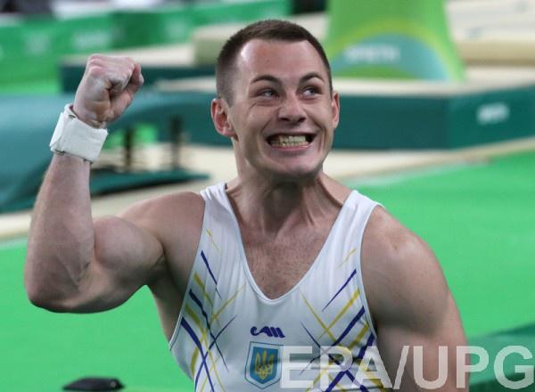 Игорь Радивилов показал неплохой результат на кольцах