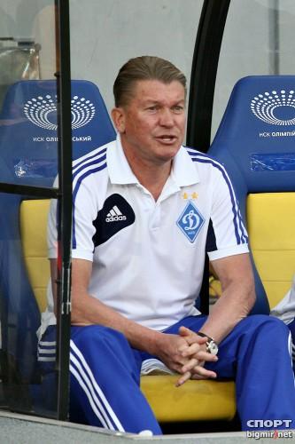 Олег Блохин не знает, где сектор болельщиков Динамо