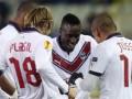 В матче Брюгге - Бордо голы забивались после ошибок защитников