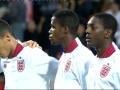 Где расизм? Нарезка матча молодежек Сербия - Англия