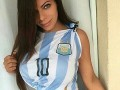 Самая красивая попа Бразилии попросила Месси не покидать сборную