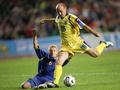 Украина с трудом побеждает Казахстан