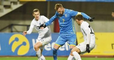 Украина - Эстония 1:0 видео гола и обзор матча