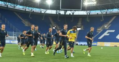 Сборная Украины прибыла в Днепр на матч с Нигерией
