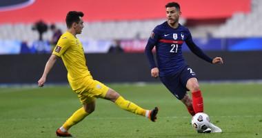 Франция - Украина 1:1 видео голов и обзор матча квалификации ЧМ-2022