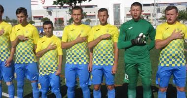 Сборная Украины в 11-й раз подряд вышла в полуфинал ЧМ по футболу 7 на 7
