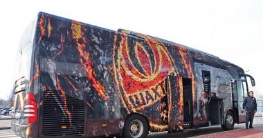 Шахтер обновил клубный автобус перед матчем с Сельтой