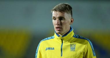 Сидорчук - лучший игрок Украины в матче против Испании по версии WhoScored