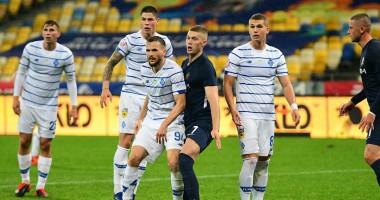 Днепр-1 - Динамо 1:2 видео голов и обзор матча чемпионата Украины