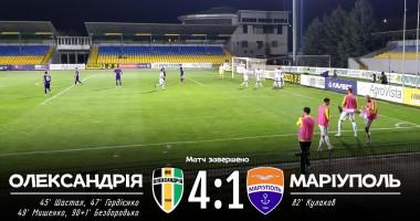 Александрия - Мариуполь 4:1 видео голов и обзор матча чемпионата Украины