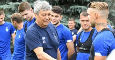 Луческу провел первую тренировку в Динамо