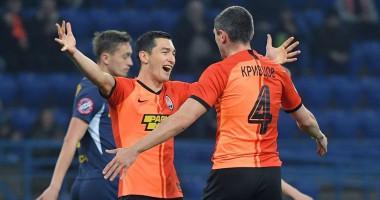 Шахтер - Днепр-1 4:1 видео голов и обзор матча чемпионата Украины