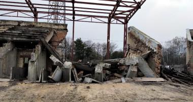 На стадионе Вереса обрушилась трибуна