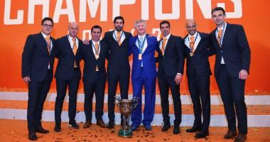 Чемпионы: как Шахтер получал золотые медали