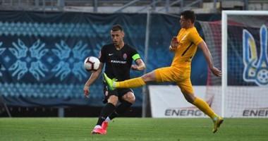 Заря - Александрия 2:2 видео голов и обзор матча чемпионата Украины