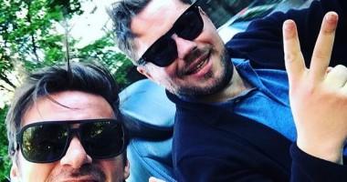 А там туманы-маны: Милевский проехался по Киеву на кабриолете