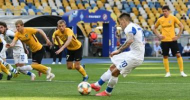 Динамо - Александрия 5:1 видео голов и обзор матча чемпионата Украины