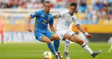 Украина - Италия 1:0 видео гола и обзор полуфинала ЧМ U-20