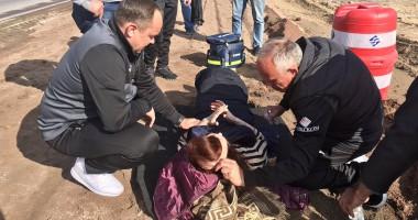 Олимпик по дороге во Львов оказал помощь жертвам ДТП