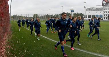 Динамо провело тренировку накануне матча с Черноморцем