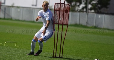 Динамо провело тренировку накануне матча с Ворсклой