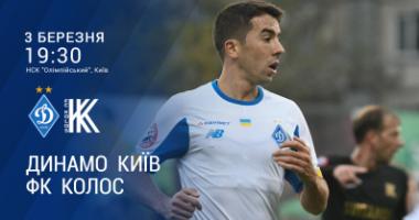 Динамо - Колос: видео онлайн-трансляция матча УПЛ