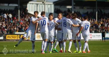 Динамо - Александрия 6:0 Видео голов и обзор матча