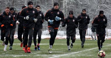 Снежная подготовка: Как Шахтер начал готовиться к матчу со Сталью