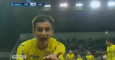 Видео фантастического гола Шведа, который принес Украине U-21 победу над Андоррой