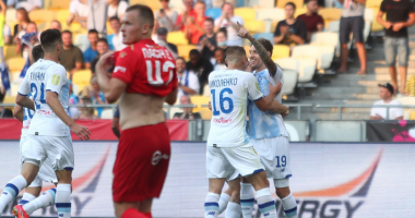 Динамо — Верес 4:0 видео голов и обзор матча УПЛ
