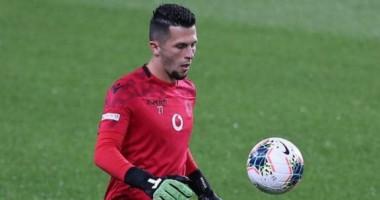 Заря заинтересована в услугах вратаря молодежной сборной Албании