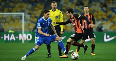 Динамо - Шахтер 0:0 обзор матча чемпионата Украины
