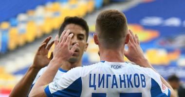 Динамо - Заря 3:1 видео голов и обзор матча чемпионат Украины