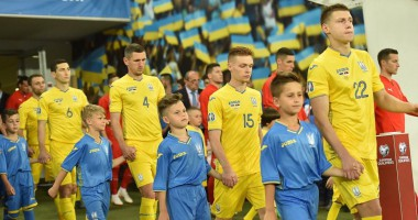 Игроки национальной сборной поздравили с Днем независимости Украины