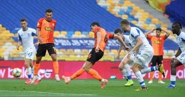 Динамо - Шахтер 2:3 видео голов и обзор матча чемпионата Украины