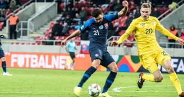 Словакия - Украина 4:1 видео голов и обзор матча