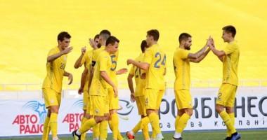 Украина U-21 - Кипр U-21 3:0 Видео голов и обзор матча
