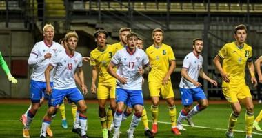 Украина U-21 — Фарерские острова U-21 1:0 Видео гола и обзор матча