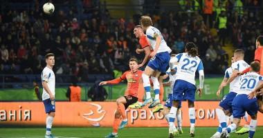 Шахтер - Динамо 1:0 видео гола и обзор матча чемпионата Украины