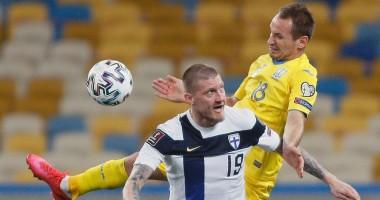 Украина - Финляндия 1:1 видео голов и обзор матча квалификации ЧМ-2022