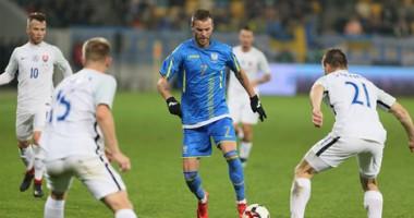 Украина - Словакия 1:0 видео гола и обзор матча