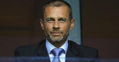 Президент УЕФА: Украина - великая футбольная страна