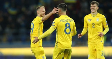 Украина - Литва 2:0 видео голов и обзор матча отбора на Евро-2020