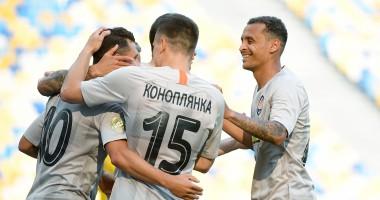 Колос - Шахтер 0:1 видео гола и обзор матча УПЛ