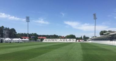 Колос представил новый стадион