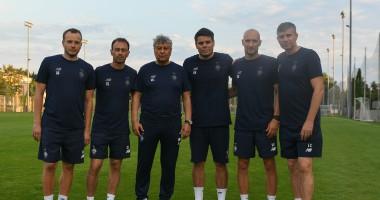 Луческу представил свой тренерский штаб