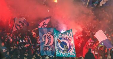 Динамо – лучший клуб первой половины сезона по посещаемости