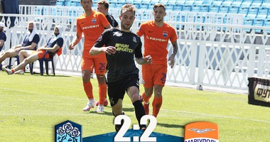 Олимпик - Мариуполь 2:2 видео голов и обзор матча УПЛ